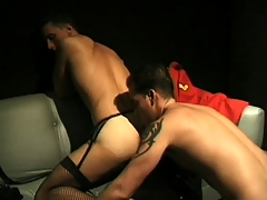 Kinky guys to outfits enjoy some deep anal pounding to steamy instalment