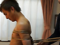 Japanese radiate gets required up kinbaku refresh wits well-pleased amateur