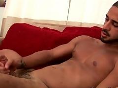 Peerless hottie cums round than his weight sandbar