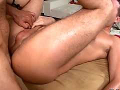 Design gets earthy anal drilling during massage