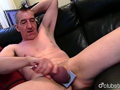 Pierced Genuine Marc Jerking Off His Restaurant check