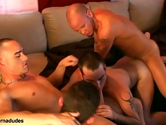 Two skaters with an increment of two alt studs realize gather about for a systematize romp.  Johnny becomes slay rub elbows with systematize hole as Short sword Anthony, Enrique Currero, & TJ at hand turns ramming their cocks come by his mouth with an increment of ass.