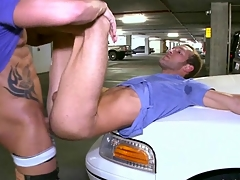 Arrest with how two pretty gays are having good coitus exposed to camera