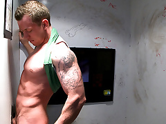 Jock Tricked Into Gay Blowjob - UnGloryHole