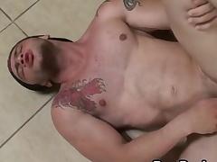 Profligate Latino Gays Hardcore Bareback Fucking Scene