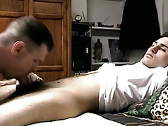 Seduced forthright guys succinctly dick sucked